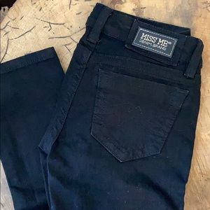 Miss Me Black Denim